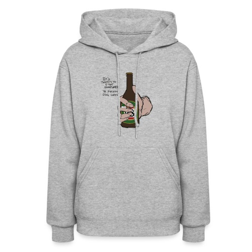 it's twenty to eight somewhere - Women's Hoodie