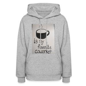 Coffee coworker - Molleton à capuche pour femmes