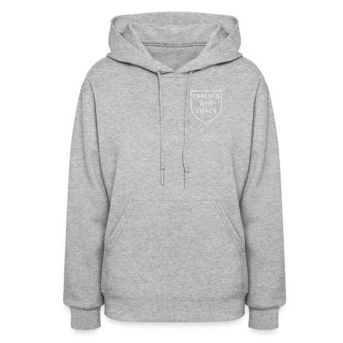 Parents Who Coach crest on chest - Women's Hoodie
