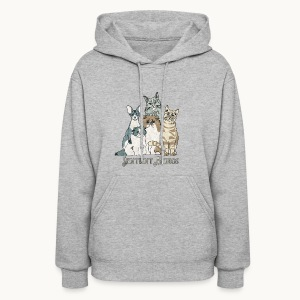 CATS - SENTIENT BEINGS - Carolyn Sandstrom - Women's Hoodie