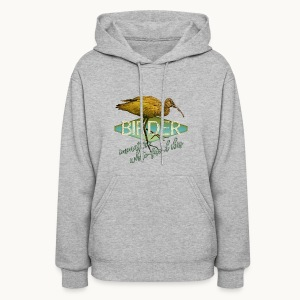BIRDER - White-faced ibis - Carolyn Sandstrom - Women's Hoodie