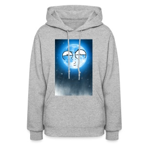 BLUE MOON UP - Women's Hoodie