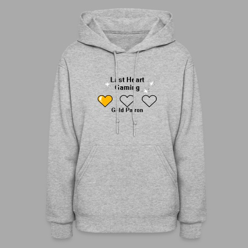 Gold Patron Contribution Design - Women's Hoodie