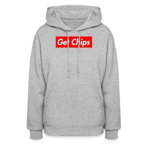 Get Chips Grey - Women's Hoodie