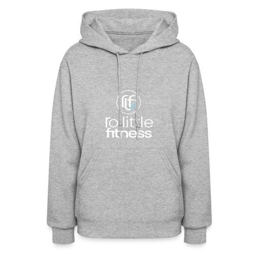 Ro Little Fitness - outline logo - Women's Hoodie