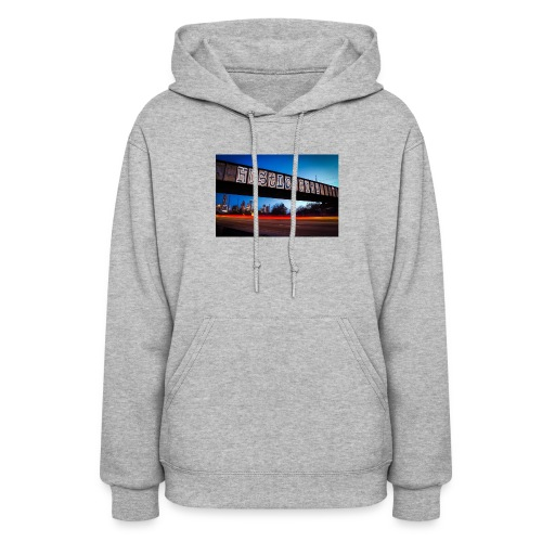 Husttle City Bridge - Women's Hoodie