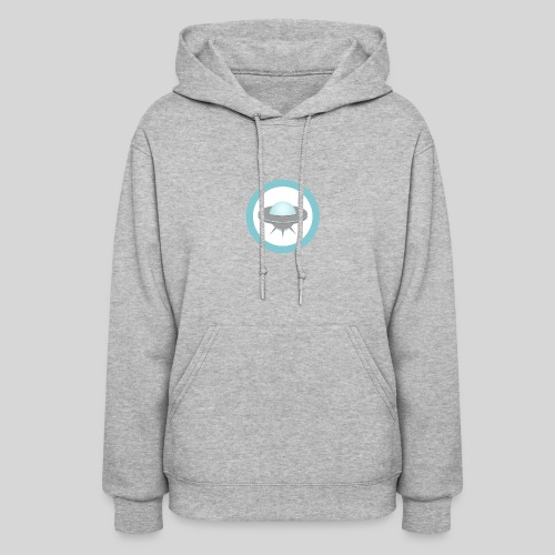 ALIENS WITH WIGS - Small UFO - Women's Hoodie