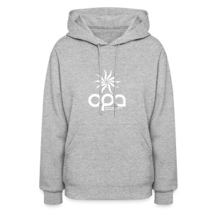 Hoodie with small white OPA logo - Women's Hoodie