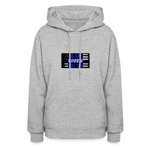 blue-lives-matter-membership-1-1024x538 - Women's Hoodie