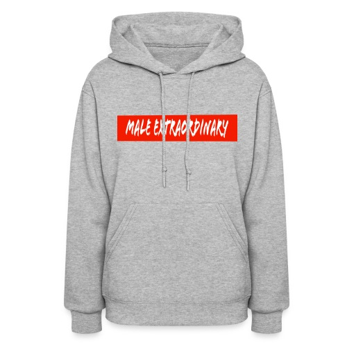 Male Extraordinary Supreme Logo - Women's Hoodie