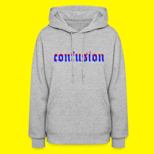 3D confusion - Women's Hoodie