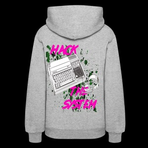 hack the system - Women's Hoodie