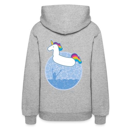 Unicorn Floaty - Women's Hoodie