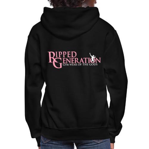 Ripped Generation Logo Gold - Women's Hoodie