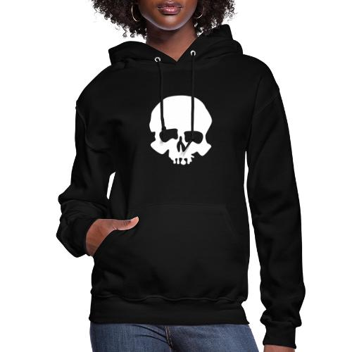 White Skull - Women's Hoodie