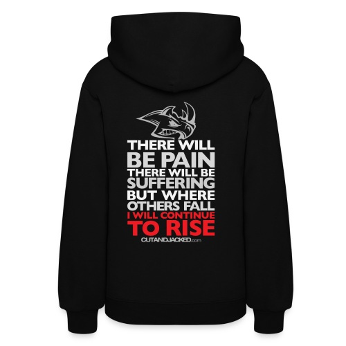 there will be pain Gym Motivation - Women's Hoodie
