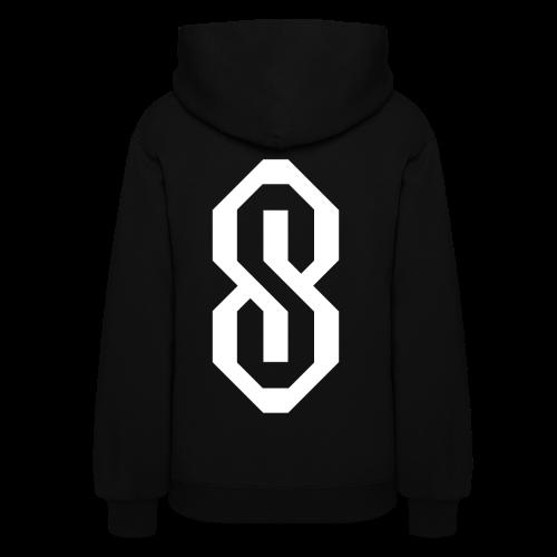 White S Logo - Women's Hoodie