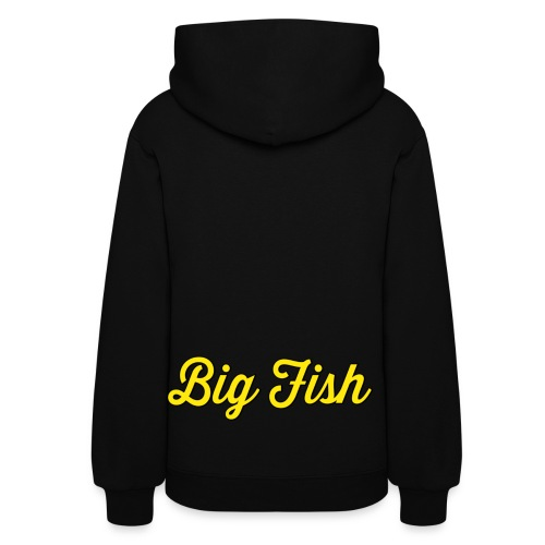 Big Fish Outlined - Women's Hoodie