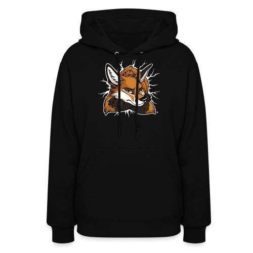 STUCK grumpy Fox Red (double-sided) - Women's Hoodie