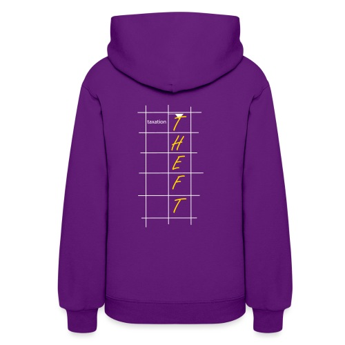 Taxation is Theft Crossword - Women's Hoodie