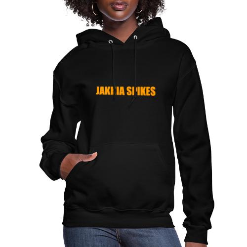 Jakhia Spikes Orange - Women's Hoodie