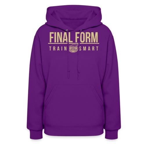 final form logo train smart1 png - Women's Hoodie
