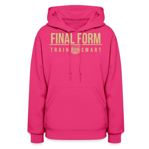 final form logo train smart1 png - Women's Hoodie