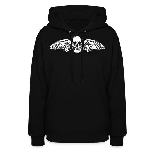 Skull + Wings - Women's Hoodie