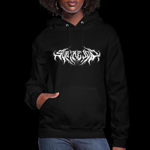 Supercool! logo - REVAMPIRED [WHITE] - Women's Hoodie
