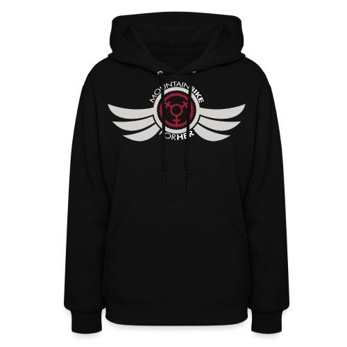 Wings Logo Words WH png - Women's Hoodie