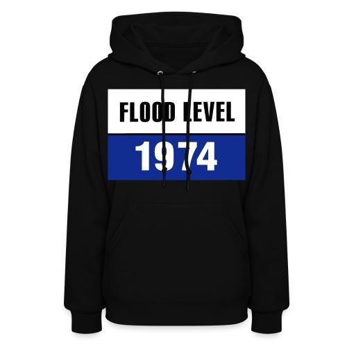 flood level 1974 - Women's Hoodie