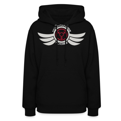 Wings Logo Words WH png - Women's Hoodie