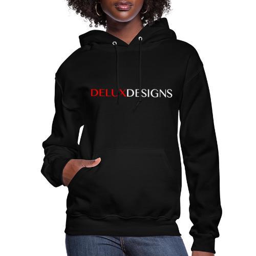 Delux Designs (white) - Women's Hoodie