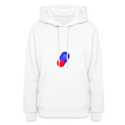 Bro Team White Words Logo Women's T-Shirts - Women's Hoodie