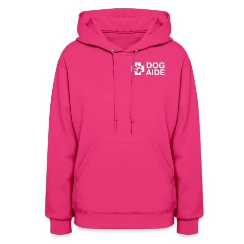 DA Logo White - Women's Hoodie