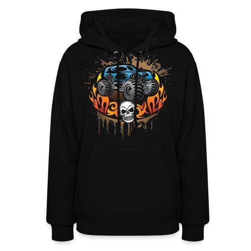 Monster Truck Shirt - Women's Hoodie