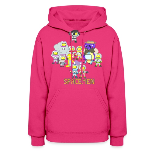 all the spacemen png - Women's Hoodie
