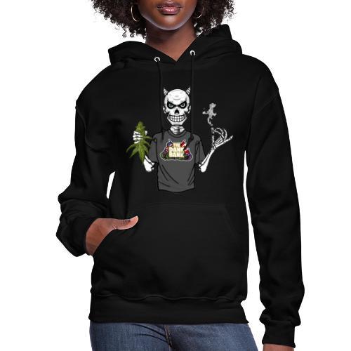 Wyt Devil's Lettuce - Devil Skelton - Women's Hoodie