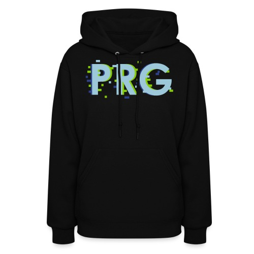 PRG distorted Neon libertarian Design - Women's Hoodie