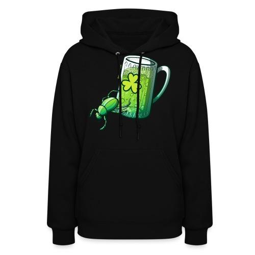 Saint Patrick's Day Beetle - Women's Hoodie