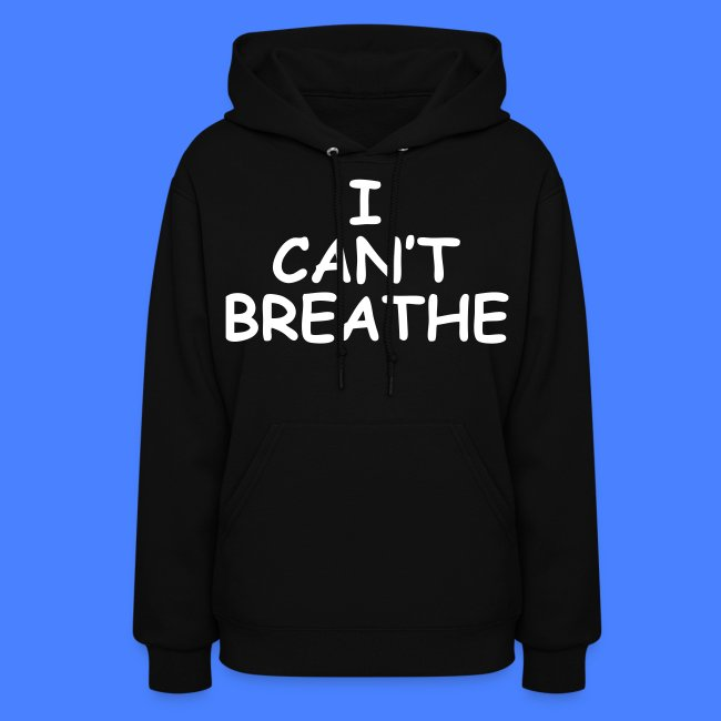 "Womens /""Breathe/"" Hoodie Tee Shirt"