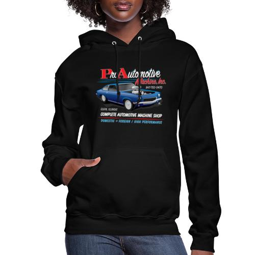 ProAutoTeeDesign062317fin - Women's Hoodie