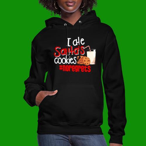 #NoRegrets Santa's Cookies - Women's Hoodie