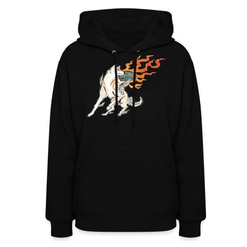 Fire wolf - Women's Hoodie