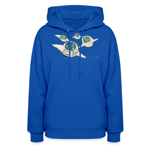 Tours of Planet Stupid - Women's Hoodie