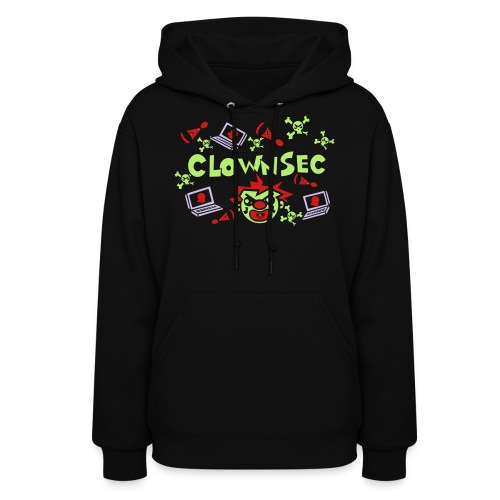 The Clown Hacker - Women's Hoodie