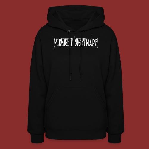 Midnight Nightmare Logo-w - Women's Hoodie