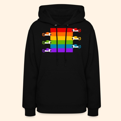 Pride on the Game Grid - Women's Hoodie