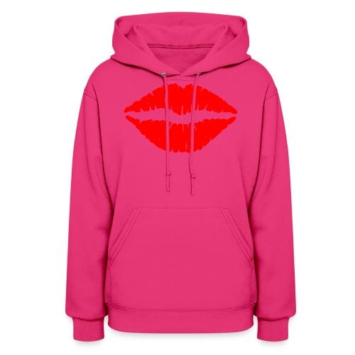Red Lips Kisses - Women's Hoodie