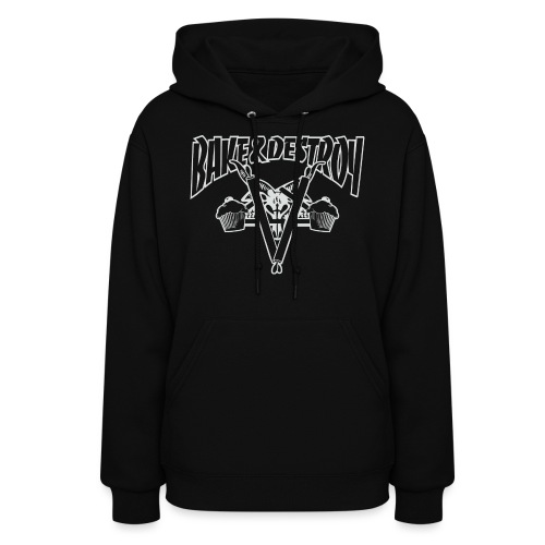Goat and Destroy - Women's Hoodie